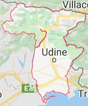 territorio Udine